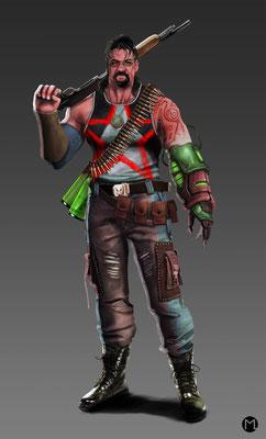 Concept Art - Character Design - Bounty Hunter - Kopfgeldjäger