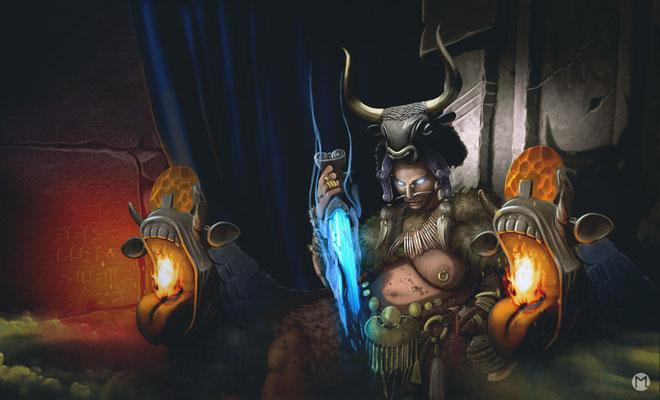 Artwork - Illustration - Schwert der Inanna