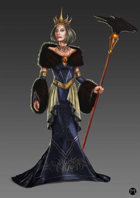 Concept Art - Character Design - Witch Queen - Hexenkönigin