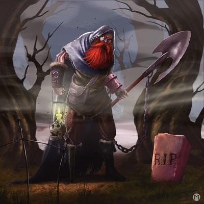 Artwork - Illustration - Character Design - Ghoul