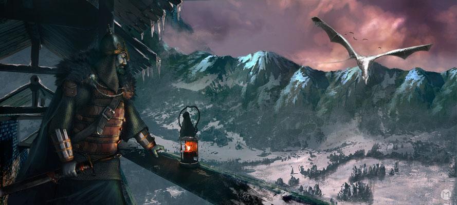 Artwork - Illustration - Dragons' Glen