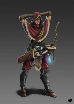 Concept Art - Character Design - Thief - Dieb