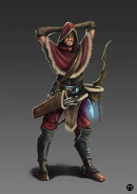 Concept Art - Character Design - Thief