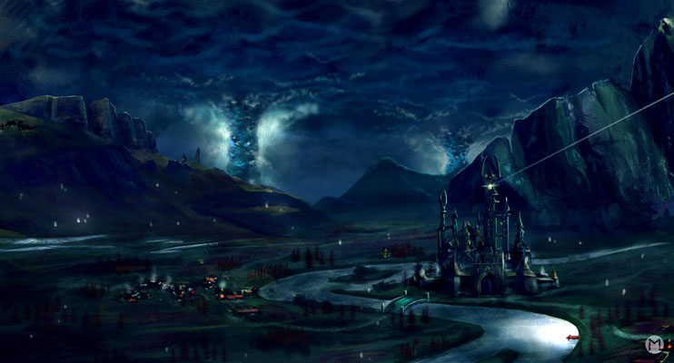 Artwork - Illustration - Dunkles Königreich