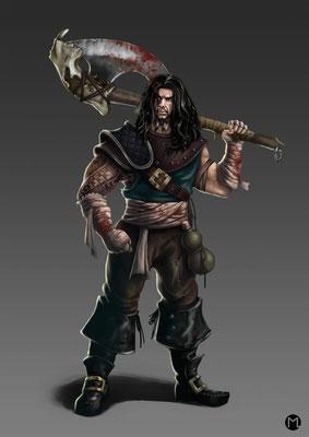 Artwork - Illustration - Character Design - Berserker