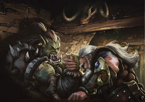 Artwork - Illustration - Showdown