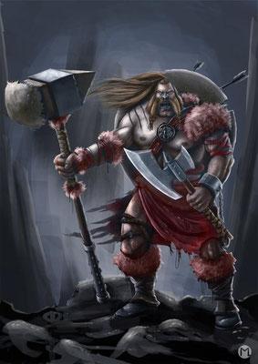 Barbarian Warrior - Barbarischer Krieger