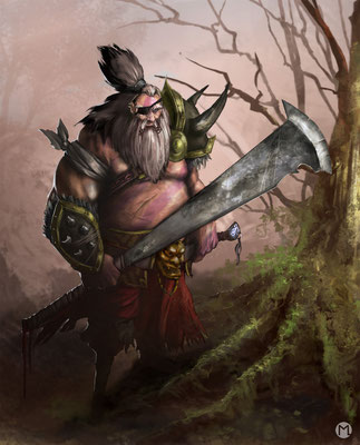 Artwork - Illustration - Character Design - Veteran Warrior