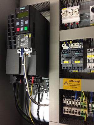 Steuerschrank mit Siemens Frequenzumrichter
