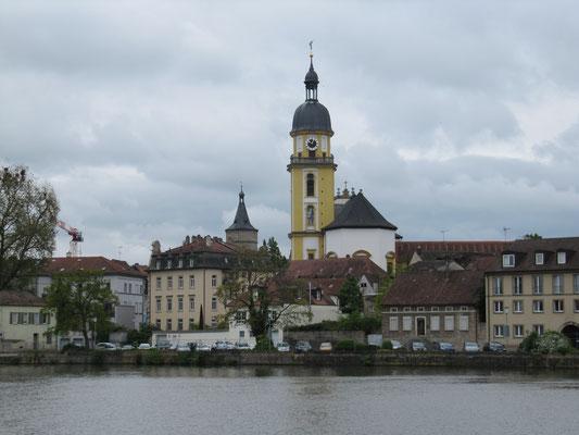 Blick auf Kitzingen
