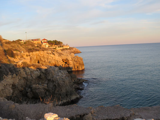 Blick vom Forti Reina