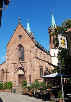 Kath. St.-Gallus-Kirche, Anfänge Mitte des 13. Jahrhunderts