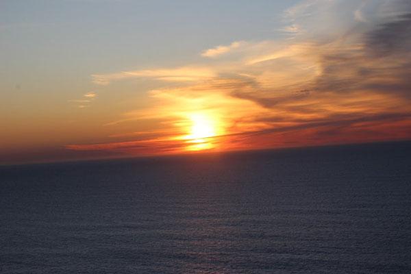 Sonnenuntergang am Cabo Espichel