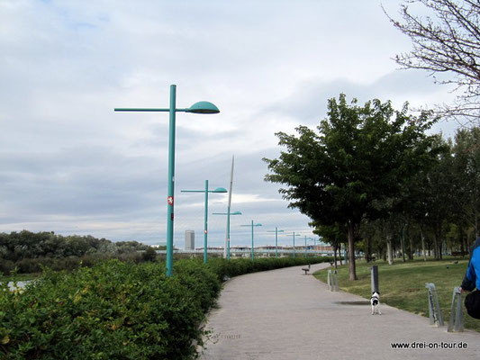 entlang des Ebro