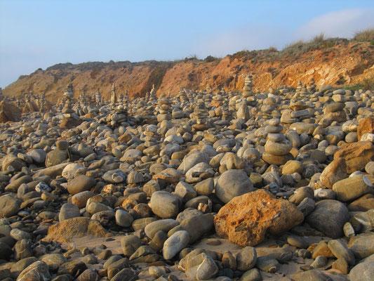 Auch hier gibt es Steinmännchen :)