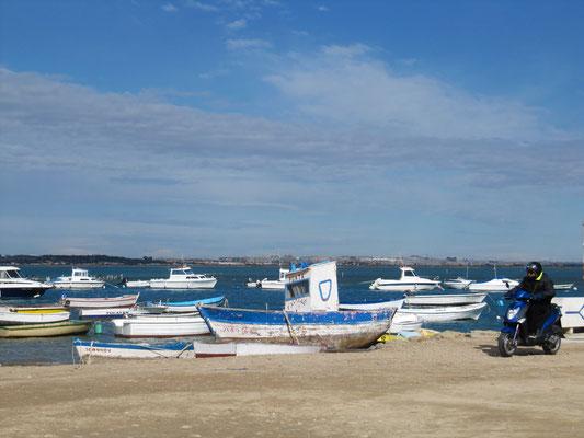 Novo Sancti Petri - Hafen