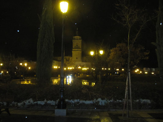 Guadix - abendlich beleuchtete Kathedrale
