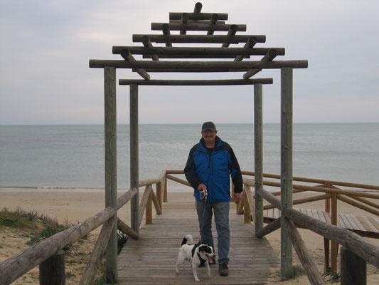 Strand am Punta Candor
