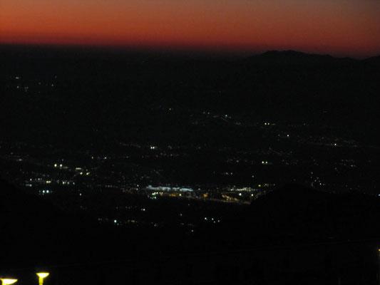 Granada ganz weit unten