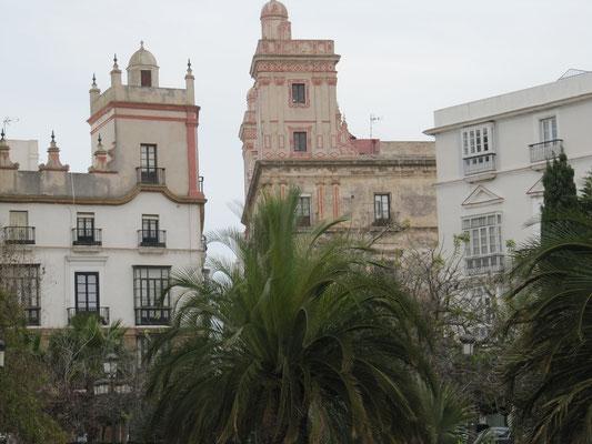 unzählige schöne Gebäude und Paläste
