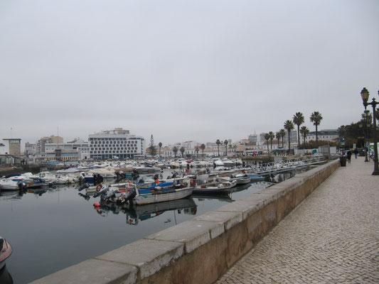 Faro - der Hafen
