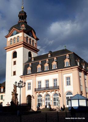 Evangelische Schloss- und Stadtkirche/Rathaus, erbaut 1707–1713