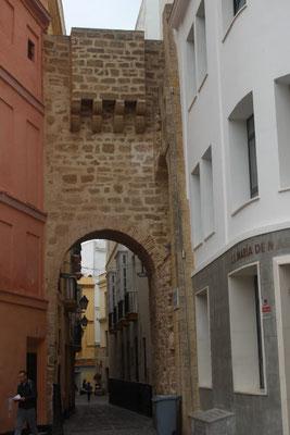 Arco de la Rosa, mittelalterliches Tor