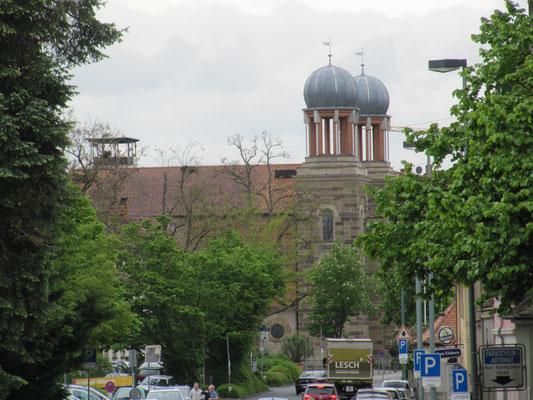 Blick auf die Alte Synagoge