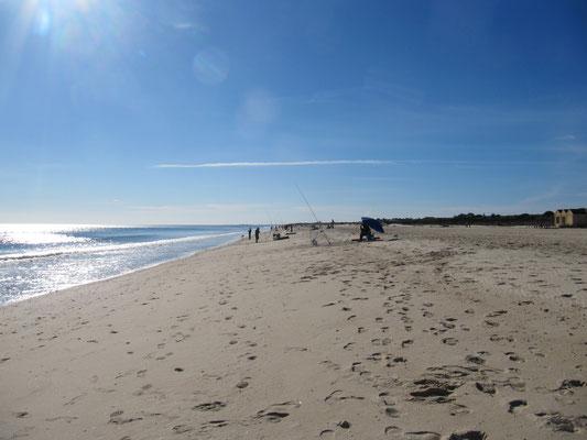 der tolle Strand von Manta Rota