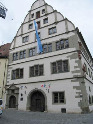 Renaissance-Rathaus von 1563