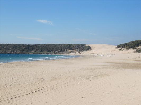 Blick auf die Sanddüne