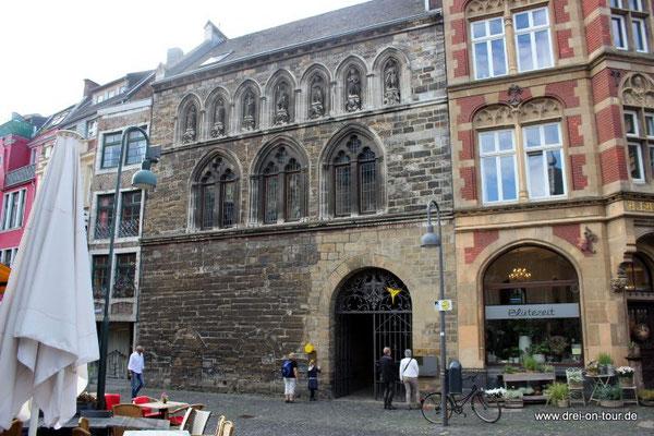 Das Grashaus, eines der ältesten Häuser von Aachen