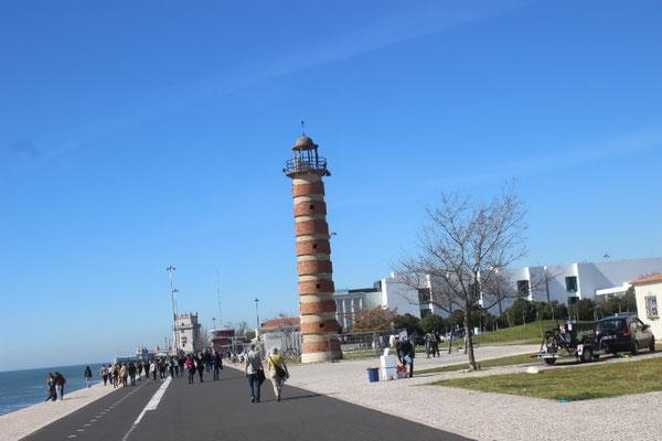 (ehemaliger) kleiner Leuchtturm von Belem