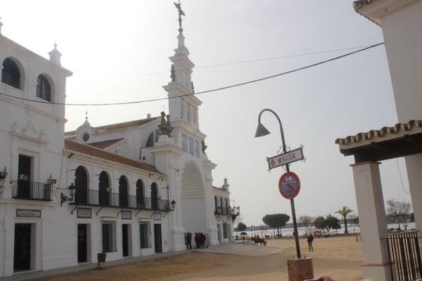 Ermita del Rocio, die Wallfahrtskirche
