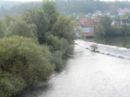 Blick auf die Fulda