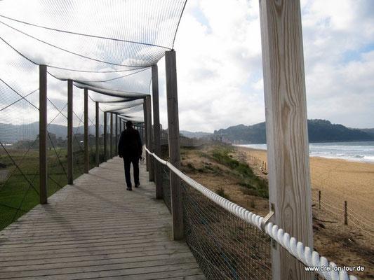 Steg zur Promenade