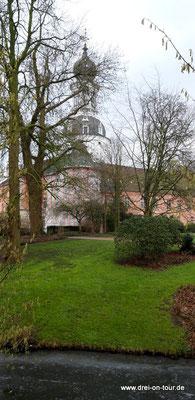 Schloßgarten, nach dem Vorbild englischer Parkanlagen