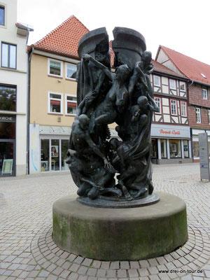 Skulptur zur Wiedervereinigung
