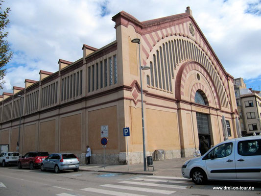 historische Markthalle