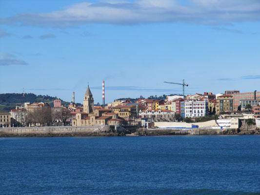 Blick auf die Altstadthalbinsel