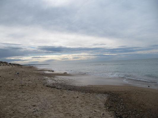 Atlantik bei Ebbe