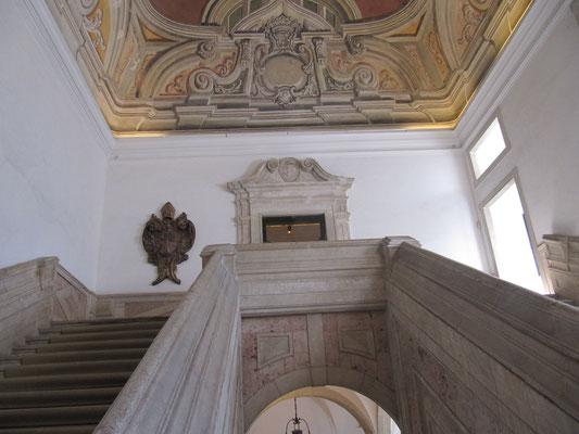 Treppenhaus nach unten