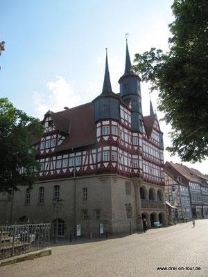 historisches Rathaus, eines der ältesten  Deutschlands