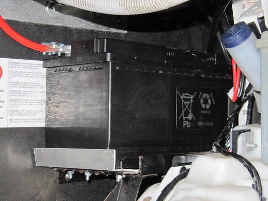 Zweite neue Aufbaubatterie