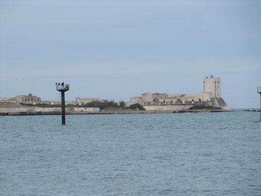 Blick auf die Mini-Insel Sancti Petri