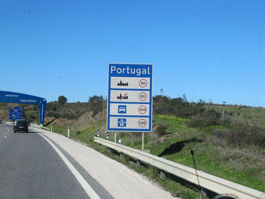 portugiesische Grenze