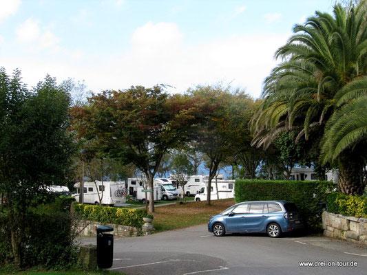 Campingplatz Zarautz mit Meeresblick