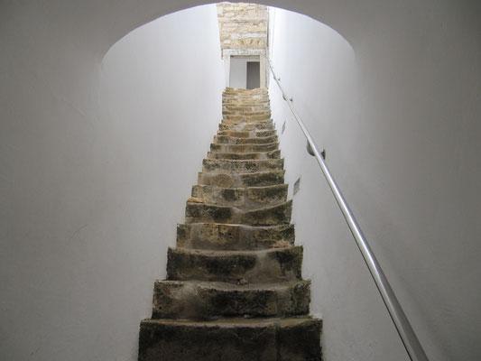 Treppe zum Glockenturm