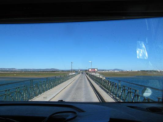 Überfahrt zur Halbinsel