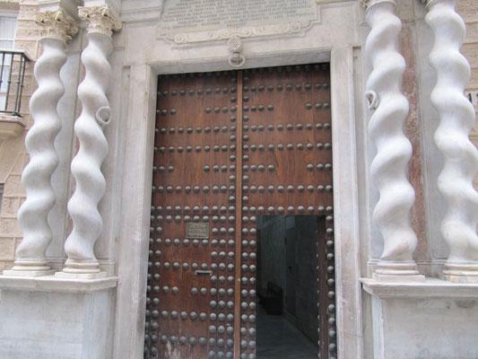 Eingang Kathedrale
